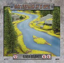 GaleForce nine River Island | Fluss mit Insel, Gelände, Tabletop