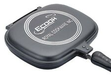 New Ecook Precise Die-cast Double Side Non-Stick Grill Fry Pan 28CM(2.2Qt)