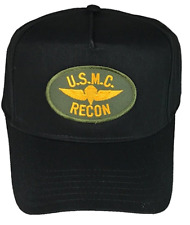 USMC RECON HAT CAP MARINE CORPS FORCE RECONNAISSANCE BRC 0326 MOS EXPEDITIONARY