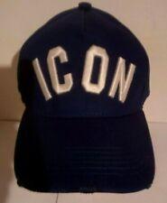 Casquette ICON DSQUARED2  bleu Baseball Cap  Dsquared2, Bleu, Neuve