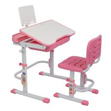 70Cm Lifting Table Portable Children Learning Table & Chair With Reading Stand