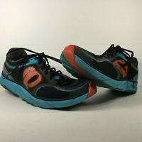 Pearl iZumi EM Project Men's Size 10.5 Run Like An Animal Sneakers Black & Blue