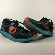 Pearl iZumi EM Project Men's Run Like An Animal Sneakers Size 10.5 Black & Blue