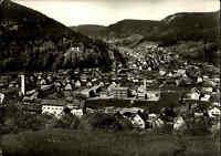 CALMBACH bei Wildbad im Schwarzwald alte s/w Postkarte Ansichtskarte frankiert