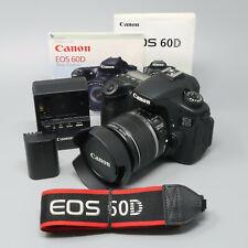 Canon EOS 60D 18.0MP DSLR Camera - Black (w/ EF-S 18-55mm Lens)
