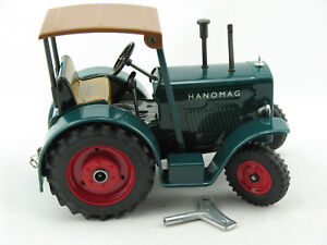 Blechspielzeug - Traktor Hanomag R40, türkis, Neuheit 2015, von KOVAP    0340