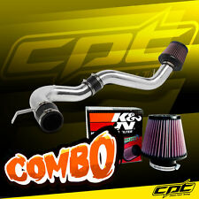 08-12 Honda Accord 4cyl 2.4L Polish Cold Air Intake + K&N Air Filter