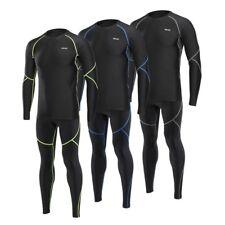 Men's Cycling Set Winter Thermal Bike Mtb Jersey Pants Running Shirt Trousers
