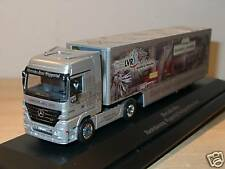 Herpa Mercedes Actros WUPPERTAL 2002 Jahresmod. PC - 1:87