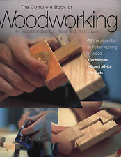 NEW The Complete Book of Woodworking Wood Carpentry Tools Sawing Techniques