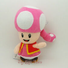 NEW Super Mario Bro Plush Doll Figure Toadette 6.5""