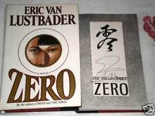 ZERO by ERIC VAN LUSTBADER **SIGNED**