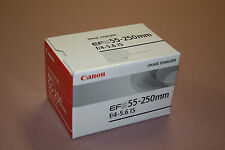 Brand New Canon EFS 55-250mm F/4-5.6 IS 58MM lens $300 EOS Rebel XT XTI XS XSI