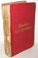 L'ITALIE MANUEL DU VOYAGEUR  KARL. BAEDEKER VINTAGE RARE BOOK MAPS 1865 FRENCH