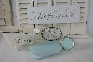 6 tlg. Badezimmer Set/ Dekoration Set/ Geschenk Set/ Maniküre Set+Gratis Tasche