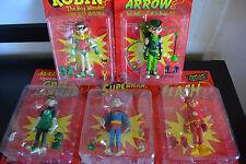 5 MAD Action Figures: The Flash, Green Lantern, Superman, Robin, Green Arrow
