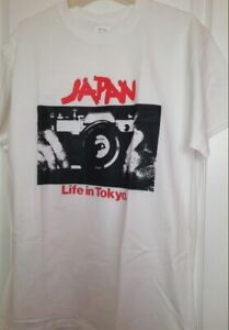 Japan Life In Tokyo T Shirt Music Synth pop Erasure ABC Flock Of Seagulls W127