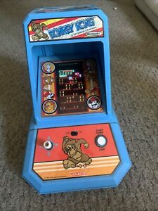 Donkey Kong Vintage Coleco Nintendo Table Top Mini Arcade 1981 Tested And Works!