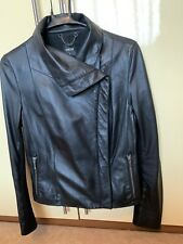 Oasis Woman leather jacket S