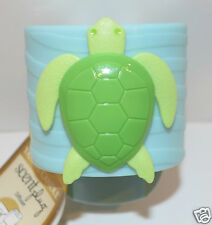 YANKEE CANDLE GREEN BLUE TURTLE SCENT PLUG IN DIFUSSER BASE UNIT AIR FRESHENER