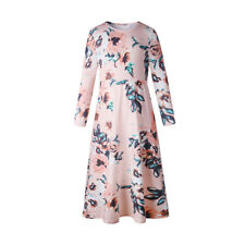 infantil manga larga vestido de Flores Fiesta Vacaciones Weddding Princesa bata