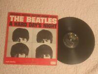 BEATLES A HARD DAY'S NIGHT in MONO Original 1964 Vinyl LP MISSPELLED Song Title