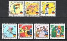JO été Madagascar (16) série complète de 7 timbres oblitérés