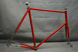 1978 Raleigh Road Bike Frame 64cm XXL Campagnolo Super Record Reynolds Charity!