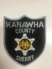 Kanawah County West Virginia Sheriffs Department Police Patch