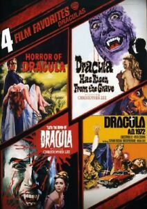 4 Film Favorites Draculas (Peter Cushing)  Horror of Dracula AD 1972 New R4 DVD
