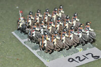 15mm napoleonic / french - cavalry 18 figs metal painted - cav (9213)
