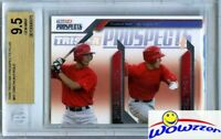 2009 Prospects Plus #81 Mike Trout First ROOKIE BGS 9.5 GEM MINT Angels MVP !