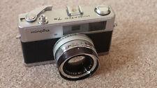 Minolta himatic 7s 35mm rangefinder film camera