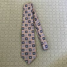 AUSTICO GOLD-LINE Lilac, Yellow & Black Patterned Tie