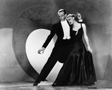 Fred Astaire & Ginger Rogers Top Hat B&W 16x20 Canvas Giclee