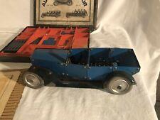 RARE German 1930s Auto Constructor Toy with Box DRGM DRPa Meccano Erector