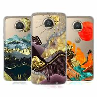 HEAD CASE DESIGNS GOLD LEAF LANDSCAPE ART SOFT GEL CASE FOR MOTOROLA PHONES