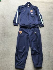 Kids Nike Barcelona FCB Tracksuit Aged 5-6 Years.