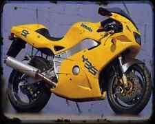 Bimota Yb9Sr A4 Metal Sign Motorbike Vintage Aged