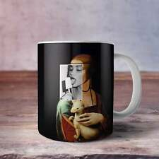 Leonardo Da Vinci Large Coffee Mug Coffee Cup Ceramic Coffee Mug Art Home Decor