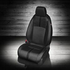 KATZKIN BLACK LEATHER INT SEAT COVERS FITS 2016-2019 HONDA CIVIC SEDAN EX / EX-T