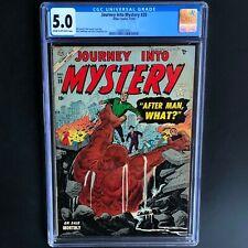 JOURNEY INTO MYSTERY #20 (Atlas 1954) 💥 CGC 5.0 💥 26 in CENSUS! Everett Art