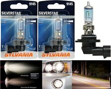 Sylvania Silverstar H10 9145 45W Two Bulbs Fog Light Replacement Plug Play
