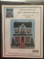 The Christmas House Cross Stitch Pattern, Needlework, Holidays, Chart Pack