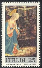 "Italy 1970 Christmas/Greetings/Art/""The Adoration""/Artists 1v (n43077)"