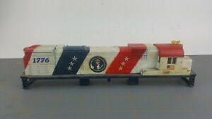 1776 American Colors Flag Red White Blue USA HO Scale Train Loco Engine Shell