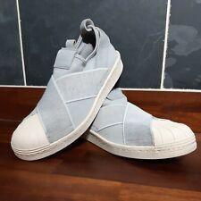Adidas Superstar Slip On Trainers Grey. UK Size UK 6