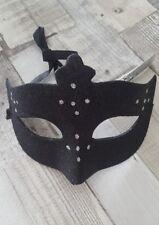 Black Eyemask Eye Mask Bat Cat Woman Halloween Masquerade Ball Fancy Dress