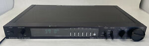 Vintage Sanyo Plus Series T55 Quartz PLL Memory Synthesizer Stereo Tuner Working