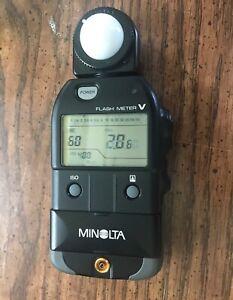 Minolta Flash Meter V   w/  case..